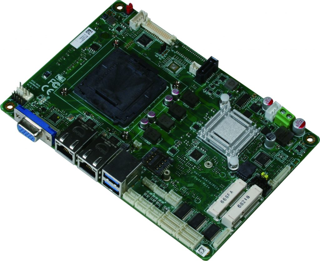 "All the Power of a Mini-ITX SBC on a 4"" Board – the AAEON EPIC-KBS8"