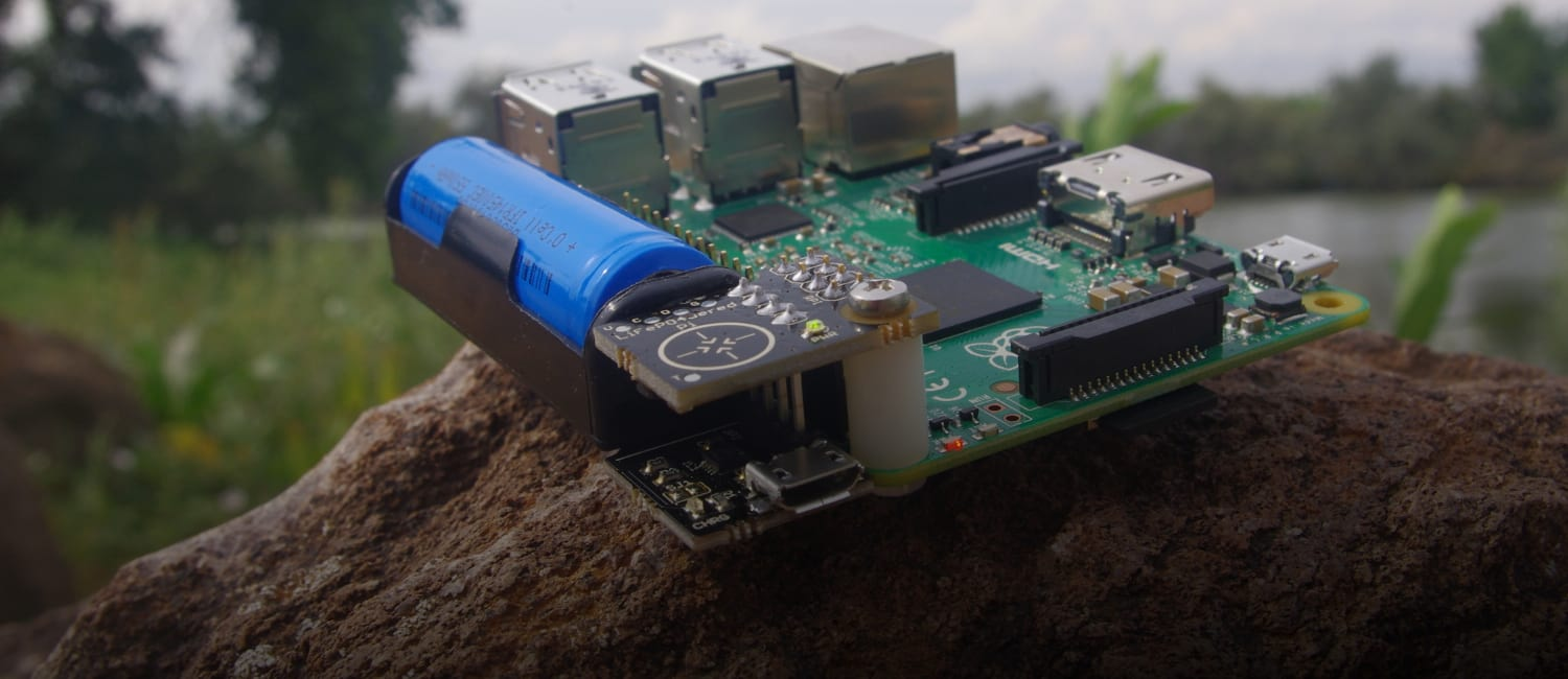 LiFeP04wered/Pi+, A High-Performance Battery Power System For Raspberry Pi