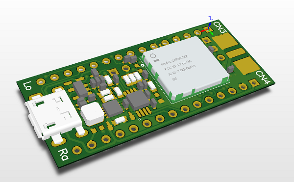 SODAQ ONE board - GPS + LoRa + Solar charger - Electronics-Lab
