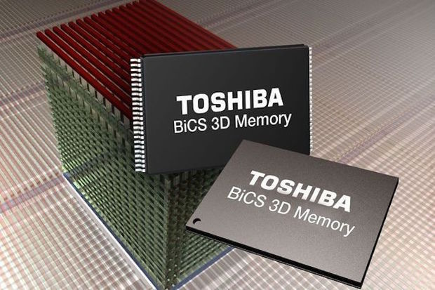 96-layer BiCS FLASH prototype from Toshiba uses QLC technology