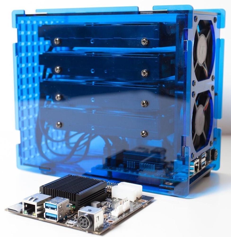 Kobol's Open-Spec Helios4 NAS SBC Features 4x SATA 3.0 Ports