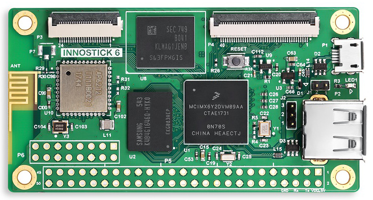 Innostick 6 SBC Runs Linux on Low Power  i.MX6 ULL SoC