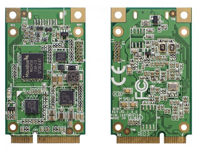 The UP AI Core – Mini-PCIe Board For Machine Learning
