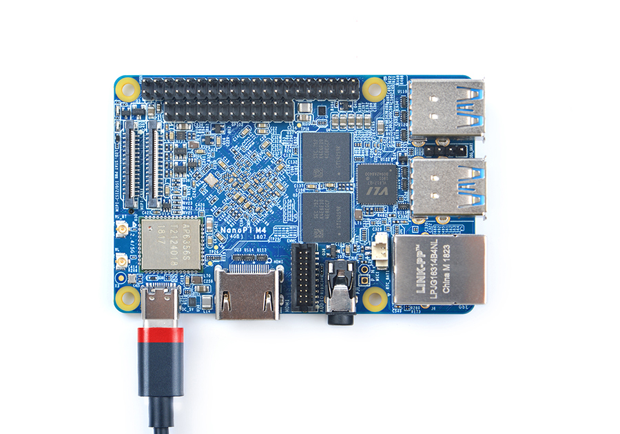 NanoPi M4 –  RK3399 Based RPi Clone SBC Costs $65