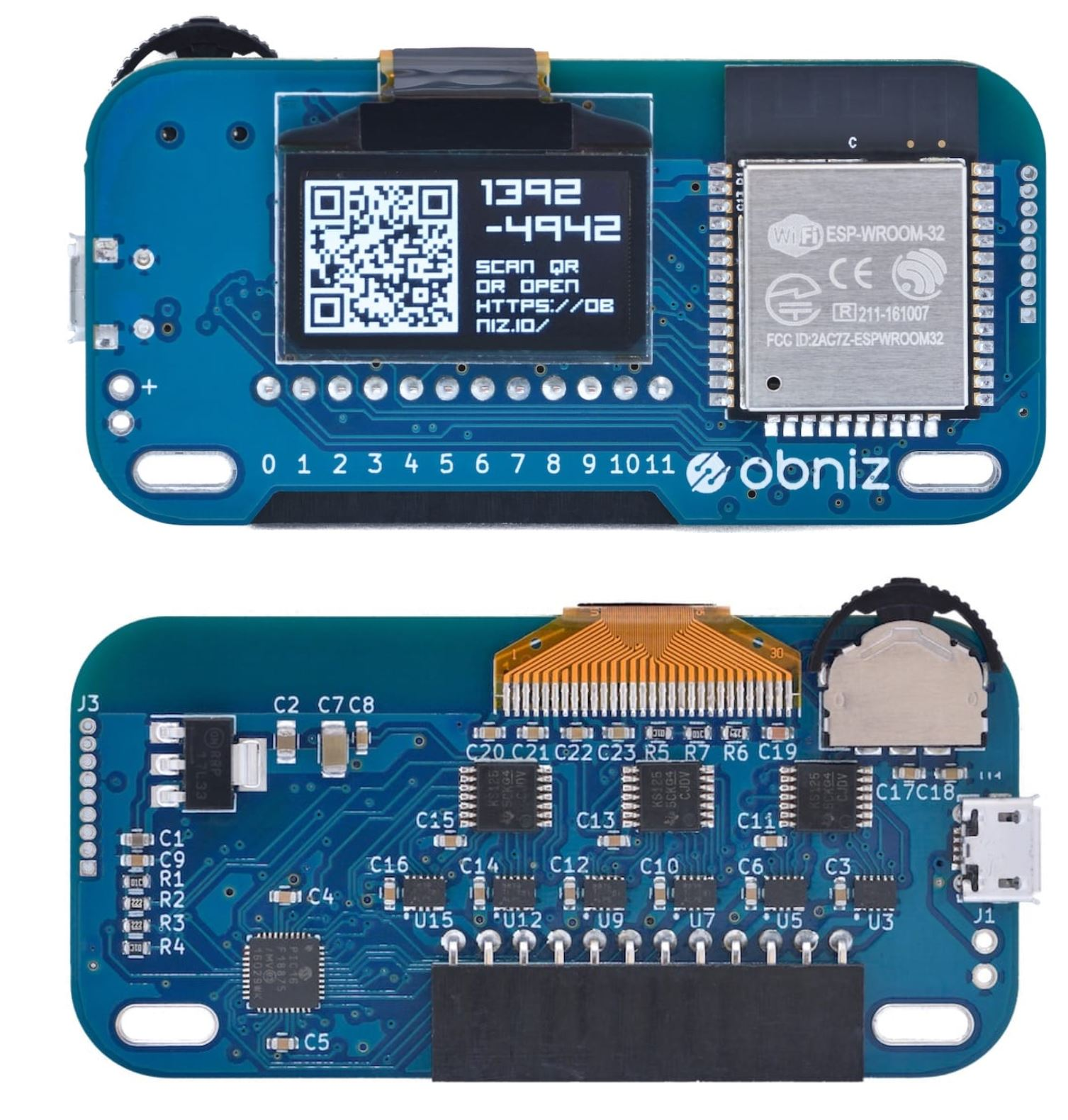 obniz is a hardware platform specially built for IoT