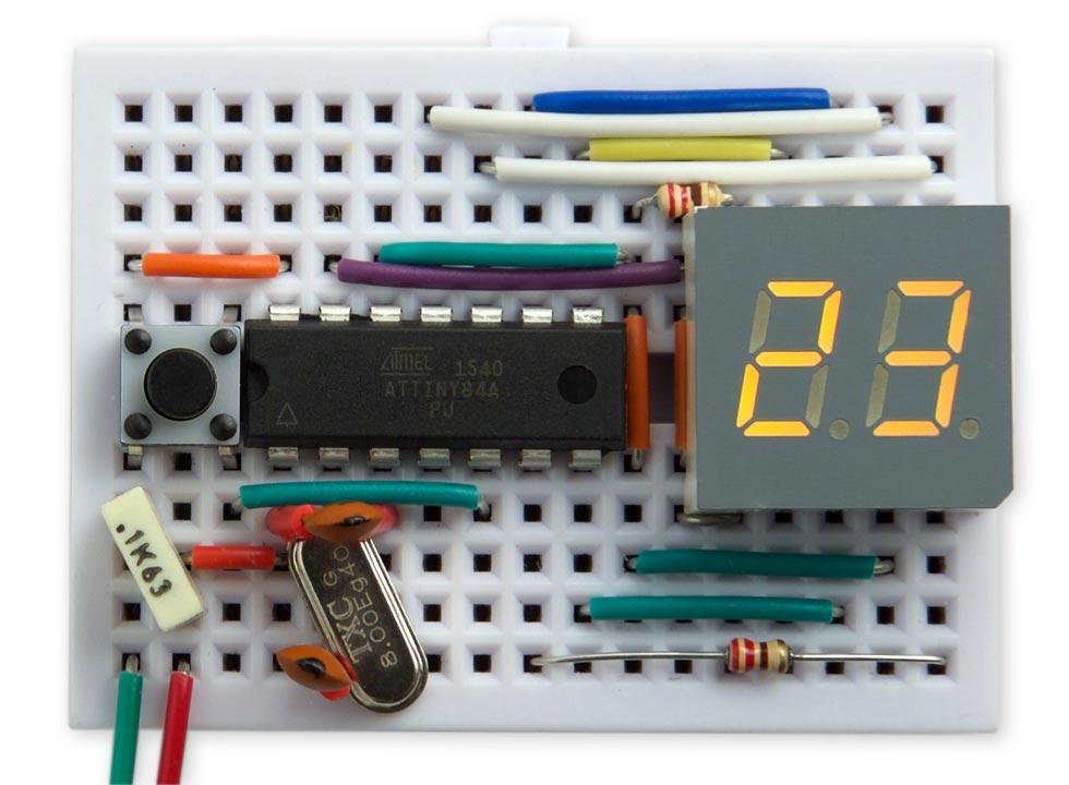 Alcohol Unit Counter using ATtiny84 - Electronics-Lab