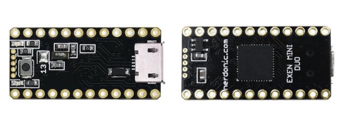 Exen Proto – A Tiny 32-bit Arduino Compatible Board