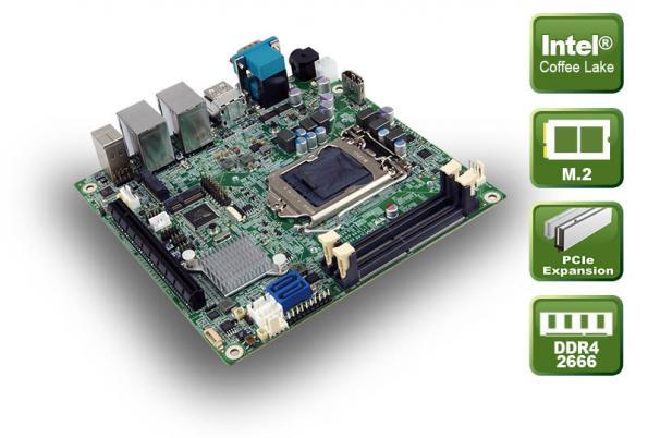 MINI-ITX board has Coffee Lake CPU
