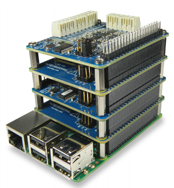 MCC 118 – 100kS/s Stackable DAQ HAT For Raspberry Pi