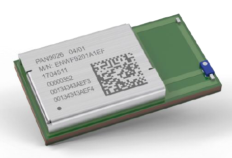 Panasonic's PAN9026 dual-mode Wi-Fi and Bluetooth 5 module