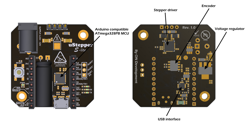 uStepper – Controlling Stepper Motor with ease