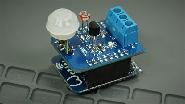 Build a Multisensor Shield for ESP8266