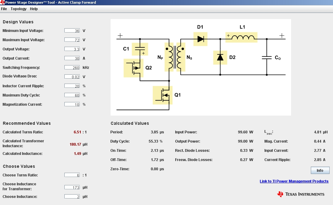 Power Stage Designer™ Tool – Design Switch-mode Power Supplies with ease