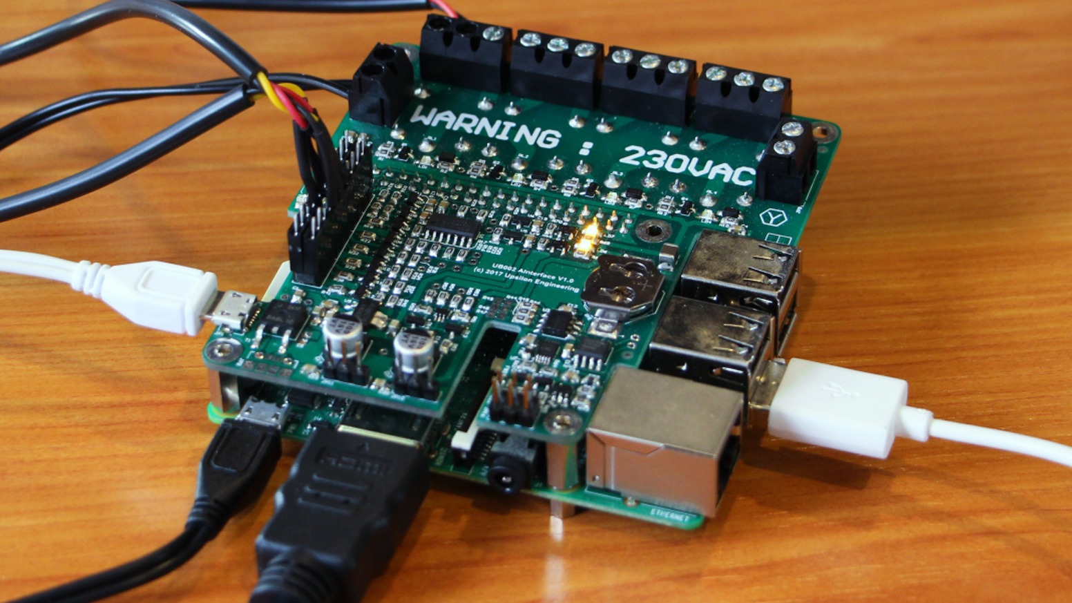 BioControle – A Raspberry Pi Based Green house Control Center