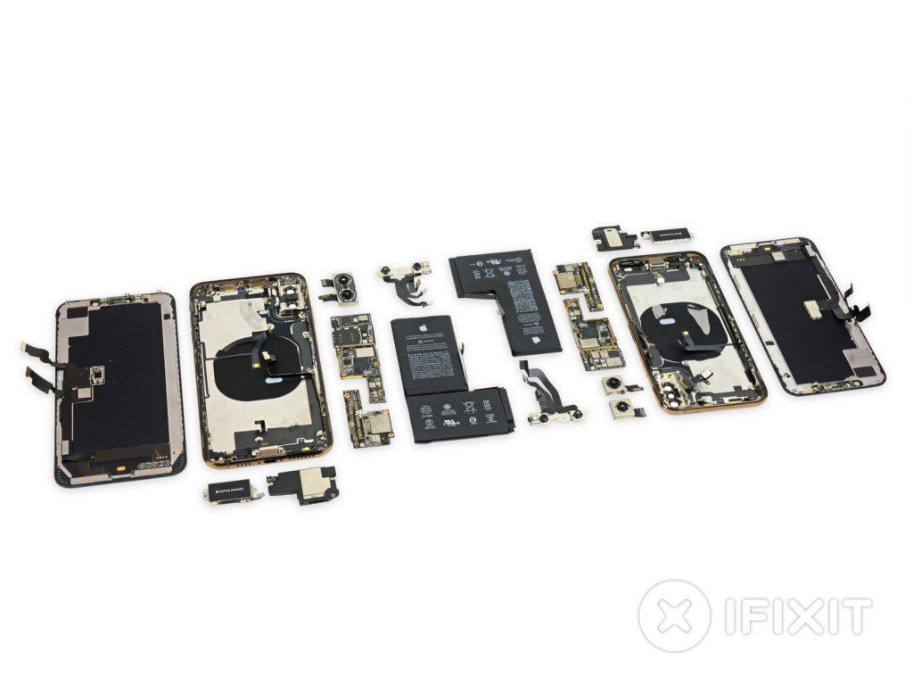iPhone XS teardown shows new battery design