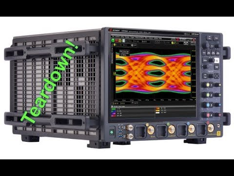 Keysight Keysight UXR 110GHz BW, 256GS/s, 10-bit, 4-Channel Real-Time Oscilloscope Teardown & Experiments