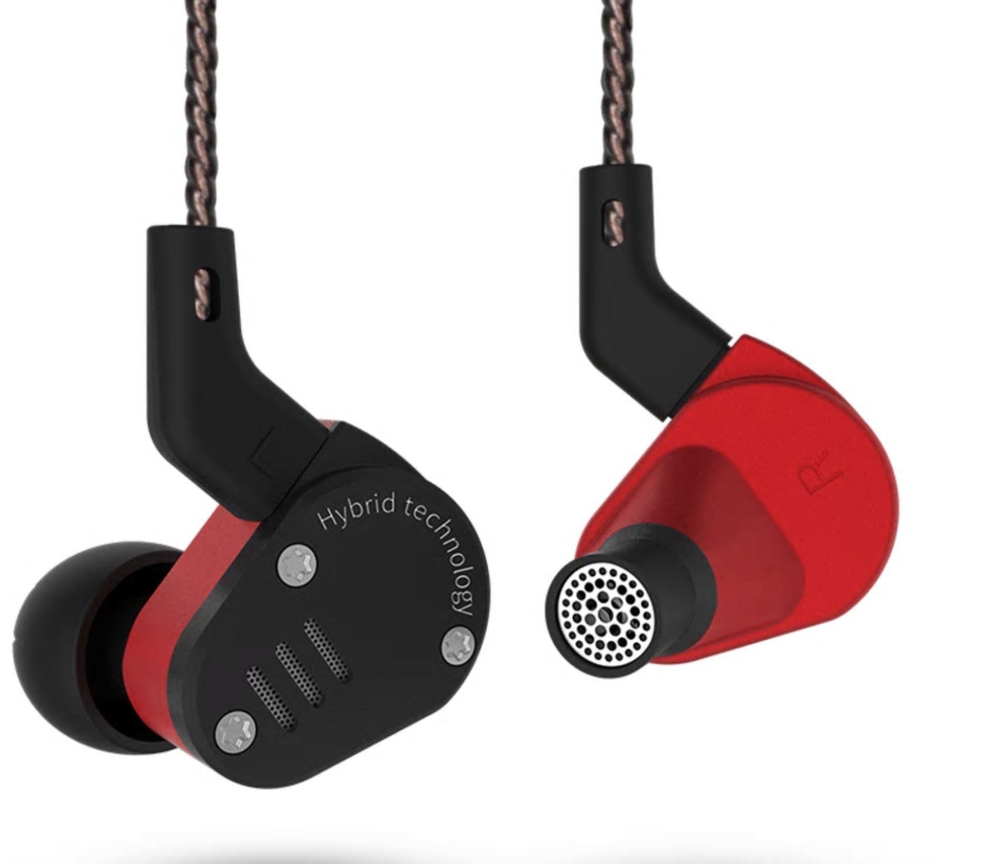 KZ ZSA Balanced Armature and Dynamic HiFi In-Ear Earphones
