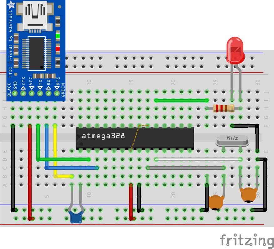 vga to av converter wiring diagram programming atmega328p microcontroller with arduino ide ... circuit diagram to breadboard converter