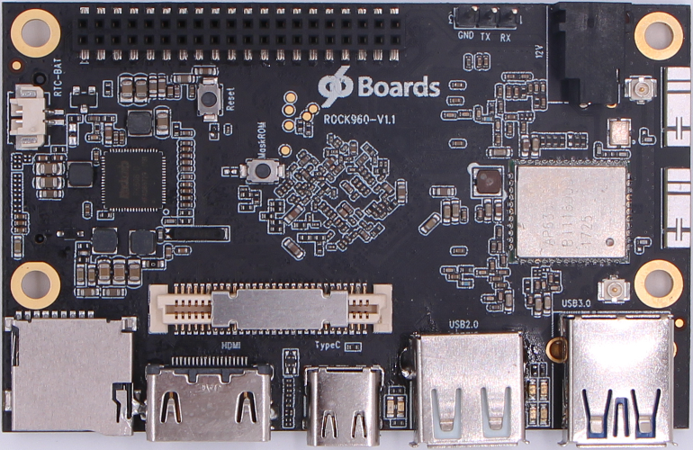 Rock960 SBC- A viable Competitor to Raspberry PI