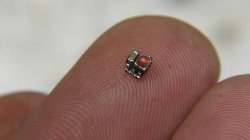 World's smallest LED blinky