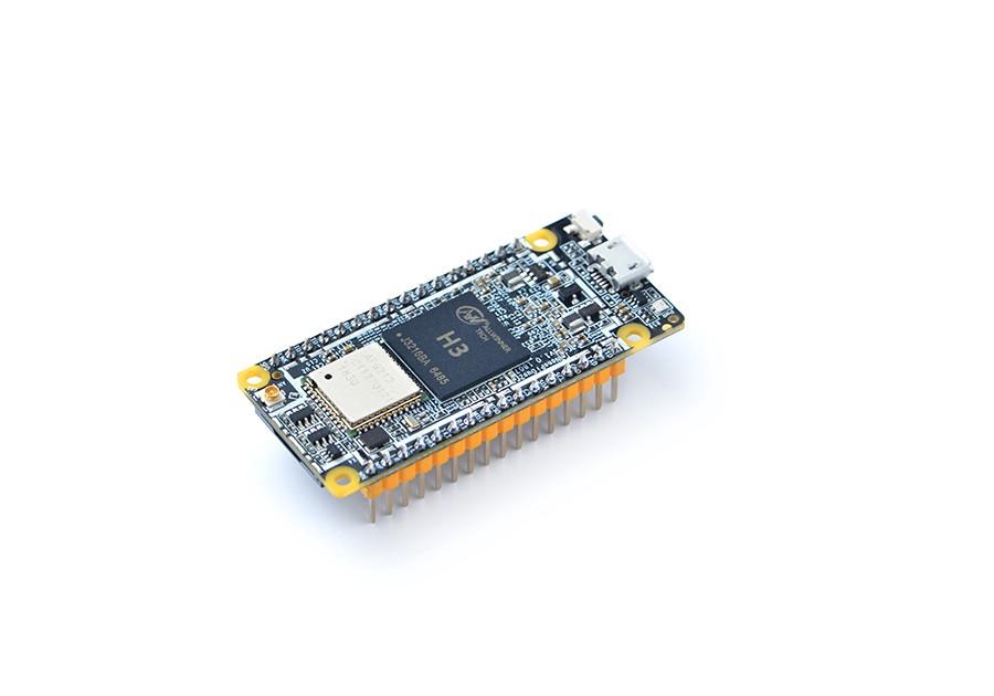 Miniature NanoPi Duo2 Board With Camera Connector
