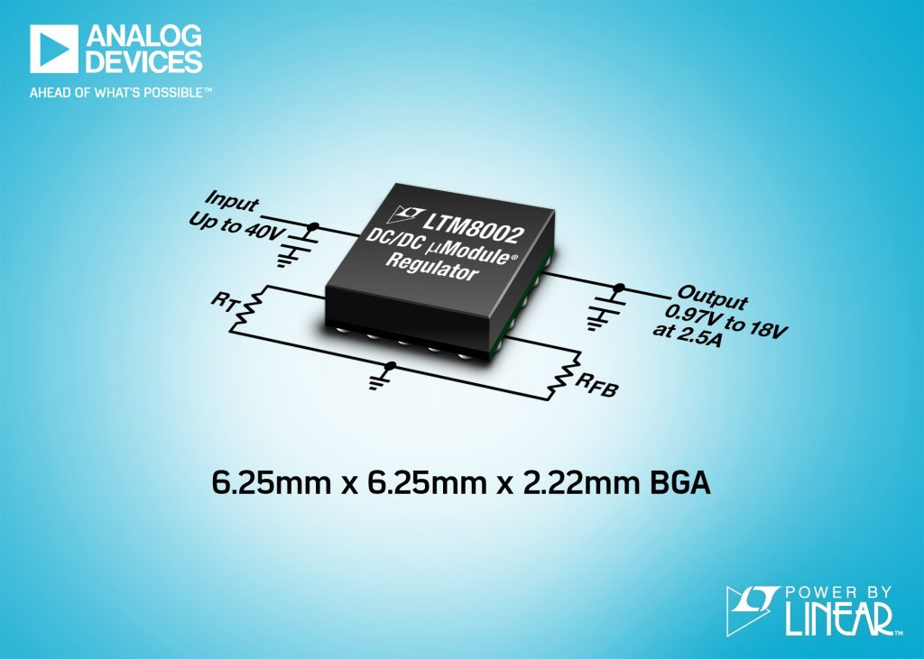 High Efficiency, Ultra Low EMI Step-Down Power µModule