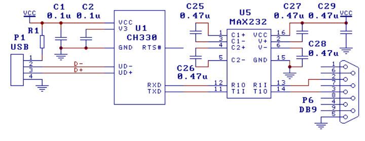 CH330 Schematics