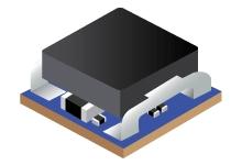 TPSM84824  – 4.5V to 17V Input, 0.6V-10V Output, 8A Power Module