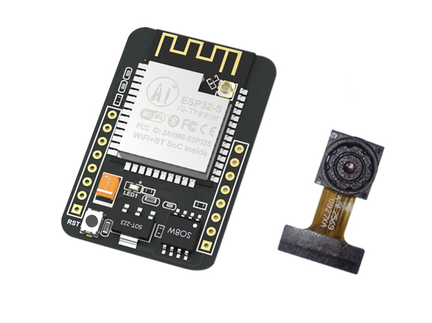 ESP32-CAM Development Board (with camera)
