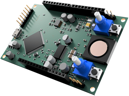 The Chirp Explorer Board, a first for data-over-sound.