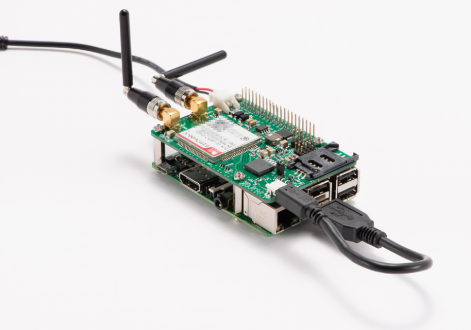 MechaTracks Launches CAT4 4G LTE HAT for the Raspberry Pi