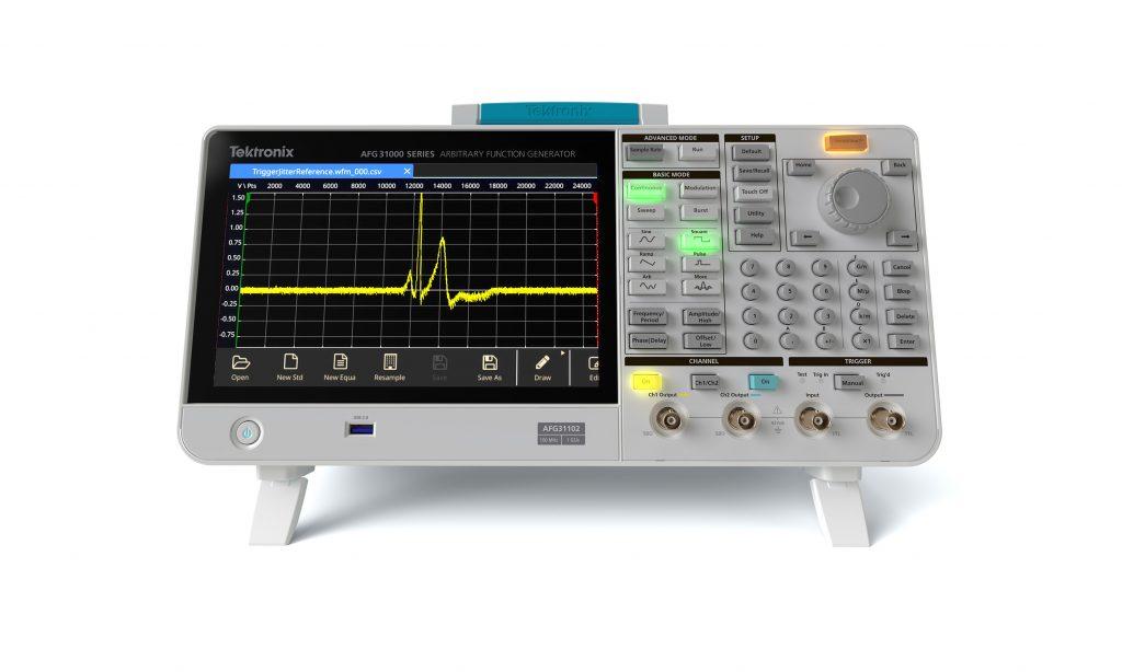 New Tektronix AFG31000 Series Arbitrary Function Generators