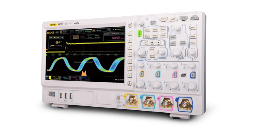 New range of Rigol scopes and signal generators