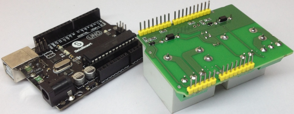 2 Channel High Current Arduino Relay Shield