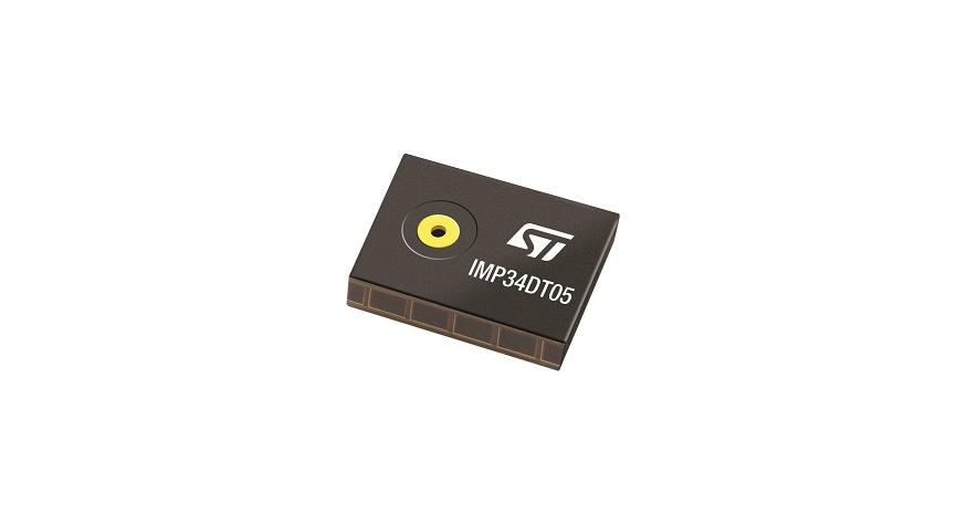 IMP34DT05 – MEMS audio sensor omnidirectional digital microphone