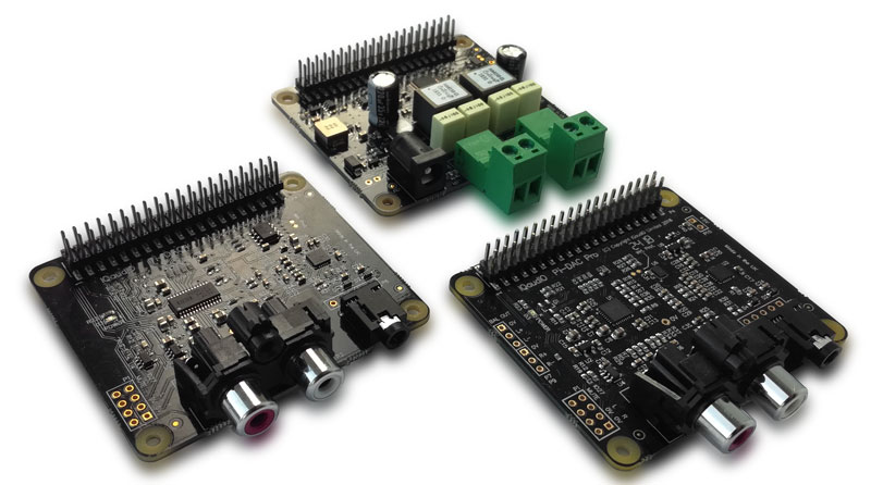 New Raspberry Pi Sound Cards: Pi-DAC+, Pi-DigiAmp+ and Pi-DAC+ Pro