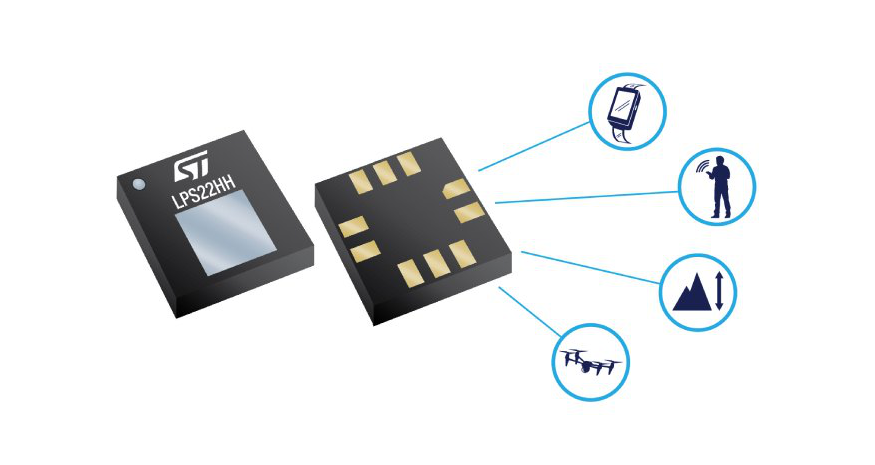LPS22HH  – MEMS nano pressure sensor: 260-1260 hPa absolute digital output barometer