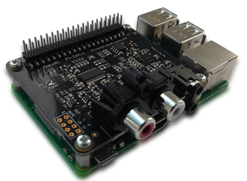 New Raspberry Pi Sound Cards: Pi-DAC+, Pi-DigiAmp+ and Pi
