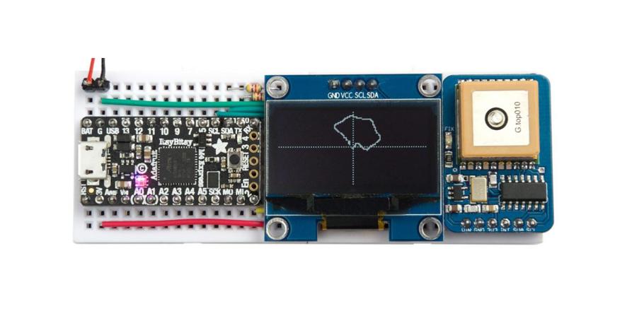 I2C GPS Module with NMEA decoding