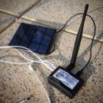 Solar Powered Beehive Monitor Using Sigfox network