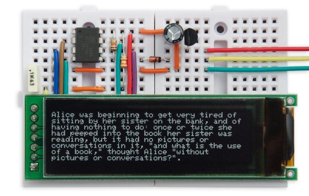 A Tiny Serial Terminal based on ATtiny85