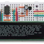 A Tiny Serial Terminal based on ATtiny85