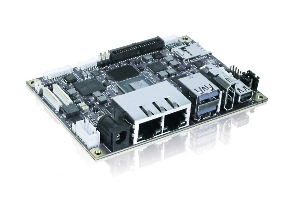 Kontron SBC pITX-iMX8M for 4K UHD graphics performance