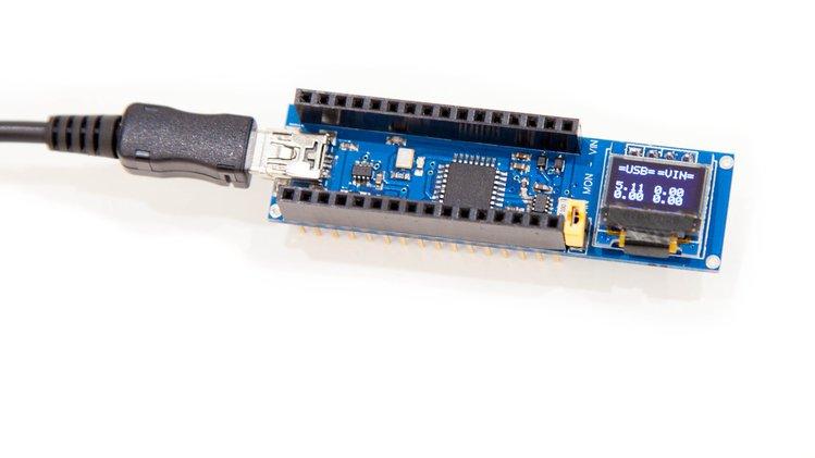 PowMeter Shield Nano – Tiny power monitor shield for Arduino