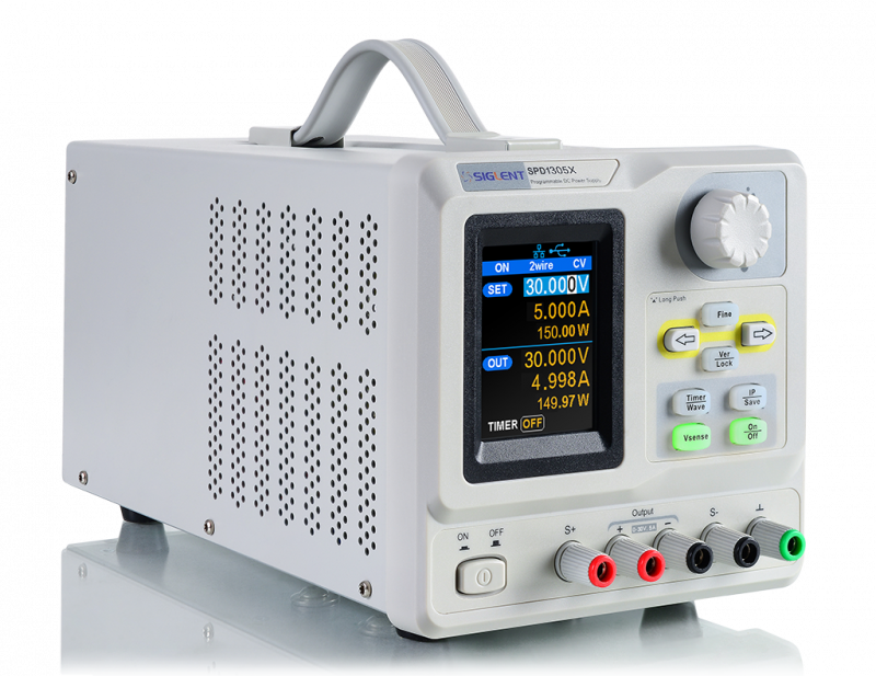 SPD1305X – 30V 5A Single output Power Supply from Siglent