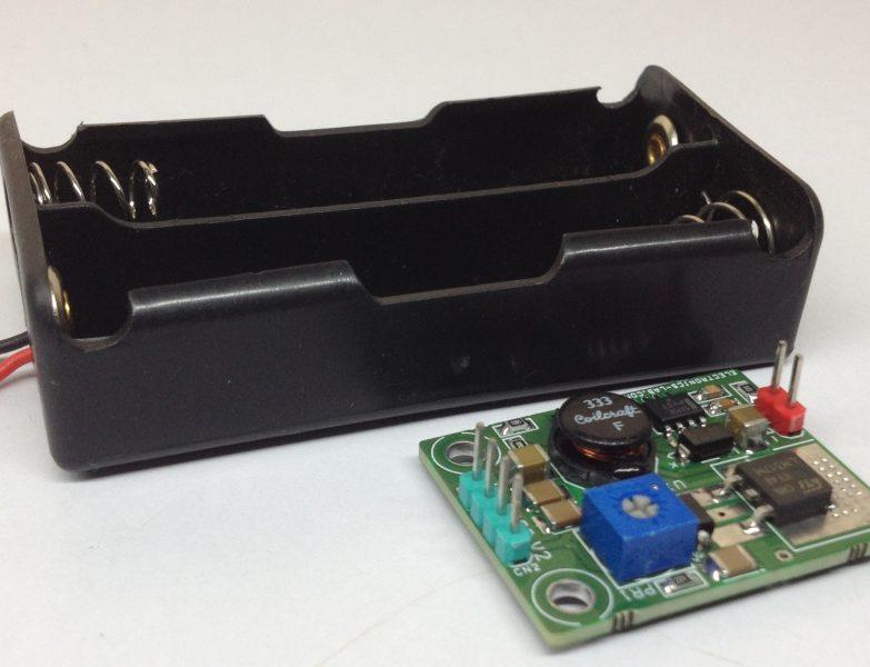 2x LiPO Battery to 12V and 5V Converter