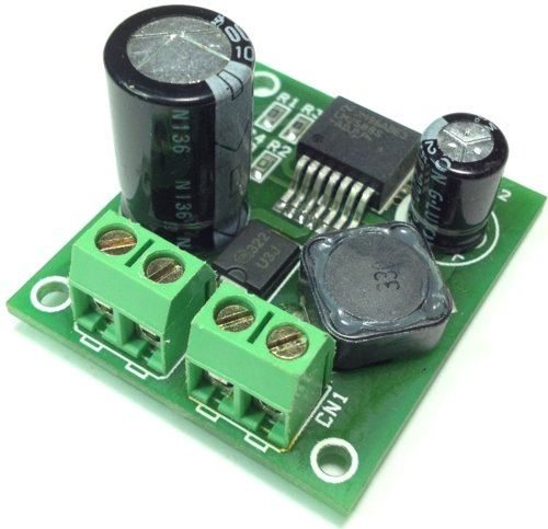 24V to 36V @ 2A DC-DC step-up Converter using LM2588
