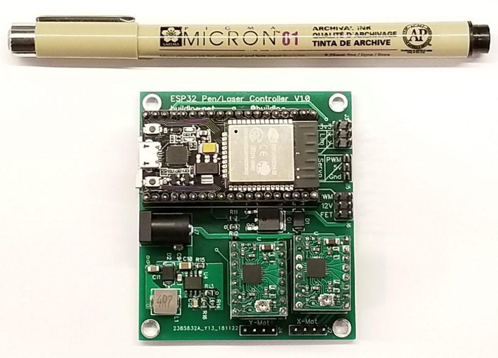 DIY Pen/Laser Engraver ESP32 Controller