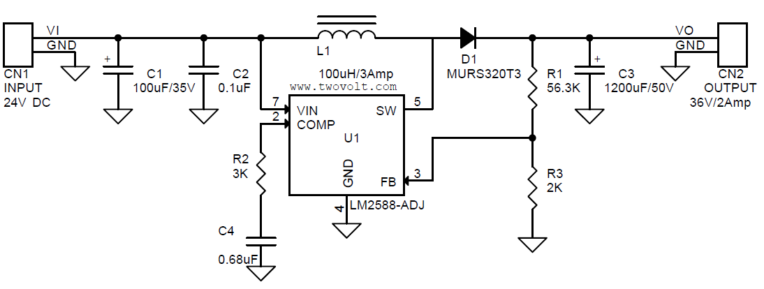 Dc To Boost Converter Schematic on
