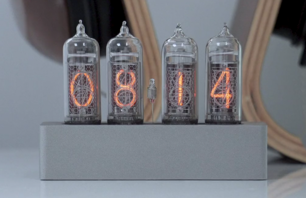 Enix: The Modern Nixie Clock